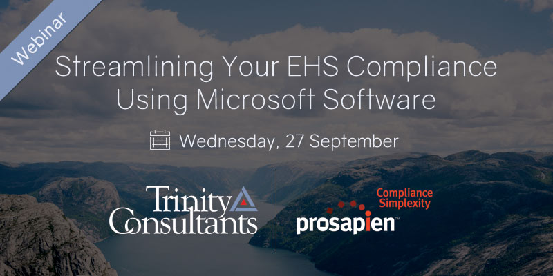 Streamlining Your EHS Compliance Using Microsoft Software