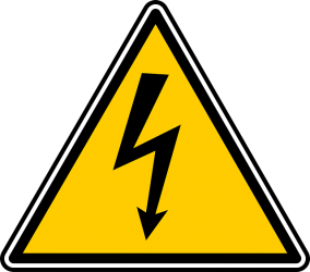 Safety Sign - High Voltage